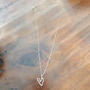 Goldfil Heart Necklace